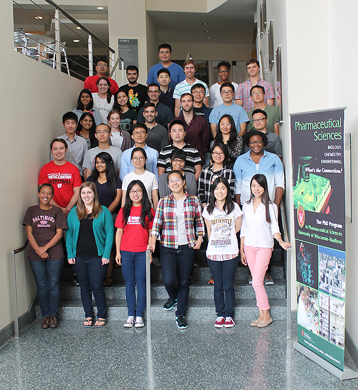 Pharmaceutical Sciences graduate students - 2016