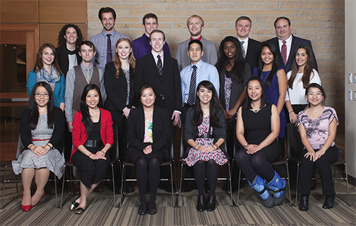 2016 School of Pharmacy scholarship recipients