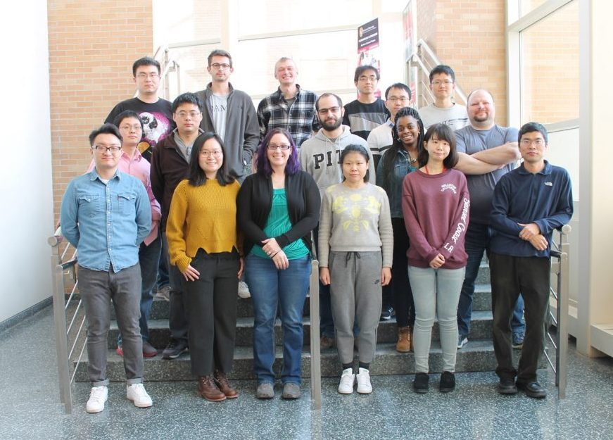 Members of the Tang Lab (January 2018)