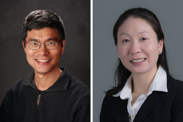 Professor Weiping Tang and Assistant Professor Jiaoyang Jiang